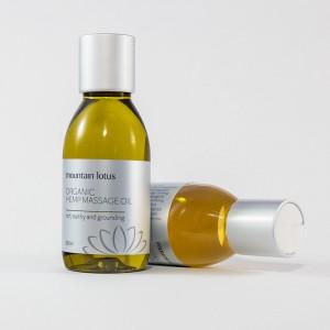 Organic Massage Oils. Hemp Massage Oil & Herbal Massage Oil.